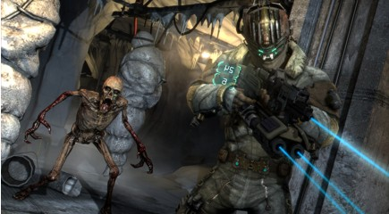 Dead Space 2-The monsters are horrifying better watch your back