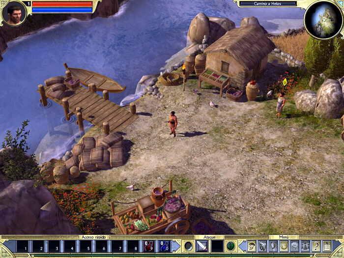 Titan Quest In-game