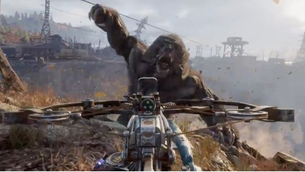 Metro Exodus-In your face monsters ready to destroy you