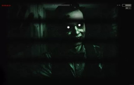 Outlast 2- You can try to hide but don't be shocked to glance up and see this guy looking at you