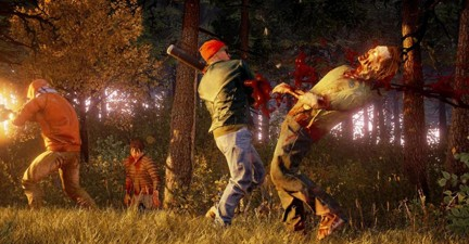 State Of Decay 2-Zombie Slashing and Hacking