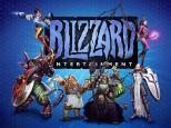 Blizzard Entertainment Logo plus characters
