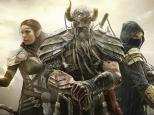 Sorceress, Dragon Knight and Nightblade from Elder Scrolls Online.