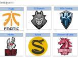 League of Legends, Fnatic, G2, H2K, Misfits, Splyce, Unicorns of Love, eSports