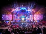Stage during IEM Katowice 2017