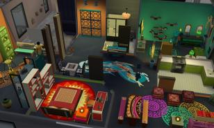 Jang Household Apartment, 121 Hakim House, San Myshuno