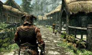 Traditional Dragonborn in starter town image