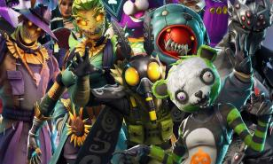 Some of the Fortnite skins