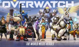 Overwatch characters in all their glory.