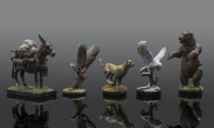 Various animal companion minis.