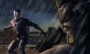 Batman vs Black Panther