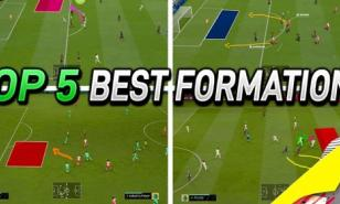 FIFA 20 best attacking formations.