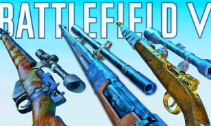 Battlefield 5 best sniper rifles