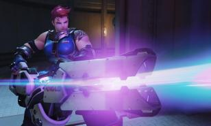 Zarya shooting things