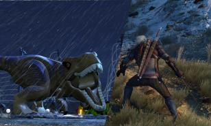 Oh yeah, it's on! - LEGO Jurassic World takes on The Witcher 3 - Wild Hunt