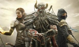 Sorceress, Dragon Knight and Nightblade from Elder Scrolls Online.