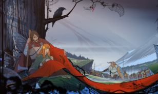 The beautiful art of The Banner Saga