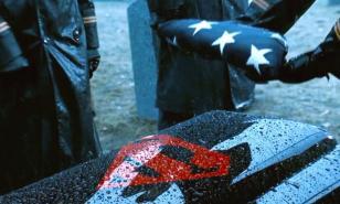 Superman's funeral in 'Batman vs. Superman: Dawn of Justice'.
