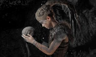 Hellblade: Senua's Sacrifice, Senua, review, 2017 games, adventure