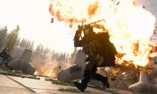 Call of Duty: Warzone flames chopper guns glory