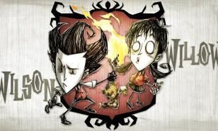 Don't Starve Together Wilson and Willow