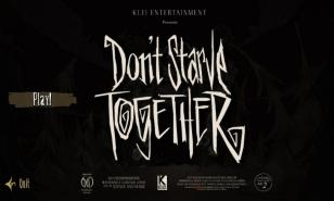 Don't Starve Together's Title Screen