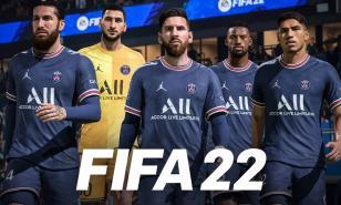 FIFA 22, Messi, PSG, Forwards, Football, Soccer