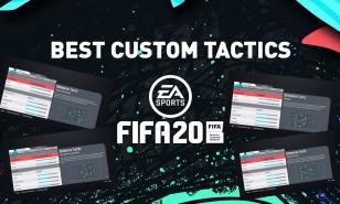 Top Custom Tactics For FIFA 20