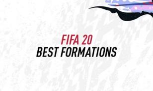 FIFA 20 best formations.