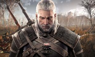 Geralt and his steely-eyed look.