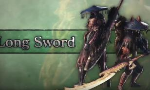 Monster Hunter, World, Iceborne, Weapons, Longsword