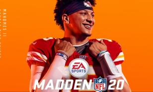 Madden 20 Best Playbooks, The marvelous magician and the cover of Madden 20 Patrick Mahomes II