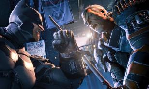 Batman Arkham Origins Boss Fight