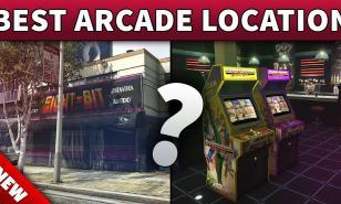 GTA Online Best Arcade Locations