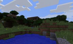 Mansion World Seed displayed in Creative Mode. Minecraft Creative Mode Best Seeds