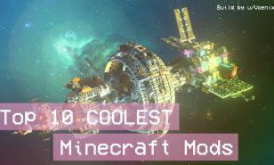 Thumbnail of a space station built in Minecraft (credit to u/Voenixx)