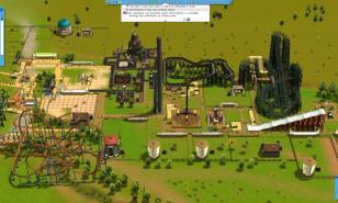 Theme Park Games, park simulator games