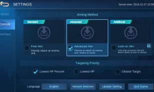Mobile Legends Best Control Settings