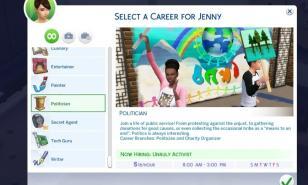 Sims 4 best Career mods
