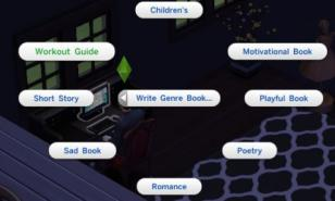 Sims 4 Best Books To Write