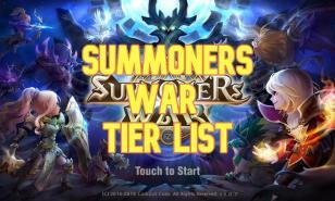 summoners war, tier list, s tier, a tier, b tier, c tier, d tier, summoners war tier list, summoners war ranking