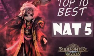Summoners War Best Nat 5