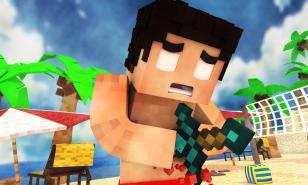 Youtuber rezendevil's Minecraft character