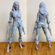 League of Legends: An Artist Just Sculpted a 14 Inch Statue of Miss Fortune