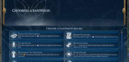 Best Pantheons Civ 6