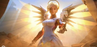 Mercy, Overwatch, Blizzard, Healing