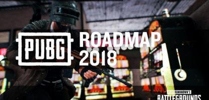 pubg, playerunknown's battlegrounds, 2018, roadmap