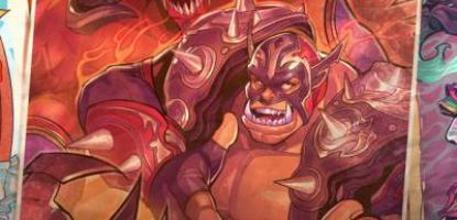 Diablo and Garrosh Nexomania poster