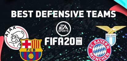 Best FIFA 20 Teams In Defense