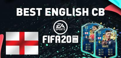 Best English Centre Backs In FIFA 20